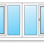 Балкон ПВХ Одностворчатые профиль алюминиевый 70мм стеклопакет 24мм, Сочи