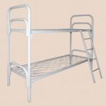 Металлические кровати одноярусные для больниц,кровати от производителя, Сочи