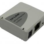 Принт сервер, модель TP-LINK TL-PS310U (1UTP 10/100MBPS, USB), Сочи