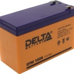 Аккумуляторная батарея Delta DTM 1209 (12V9Ah) для UPS, Сочи