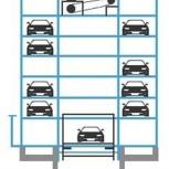 Автоматический механизированный паркинг башенного типа, Сочи