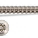 Винт 5х40 антивандальный ART 9121 с плоской головкой, Сочи