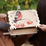 Кормушка (скворечник) для птиц с местом для декупажа, Сочи