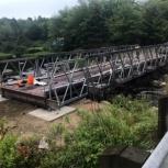 Автодорожный быстровозводимый мост., Сочи