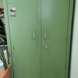 Металлический шкаф сейф 1993г. Италия, Сочи