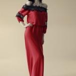 Платье из шелка с кружевными вставками, Сочи