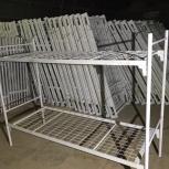 Кровати для строителей, металлические, надежные, Сочи