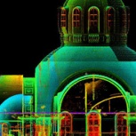Наземное лазерное сканирование (3D-съемка, 3D-сканирование, НЛС), Сочи