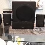 Акустическая система Sony SS-CT101/SS-TS102, 5 колонок, сабвуфер б.у, Сочи