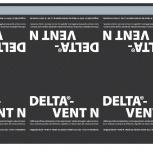 Гидропароизоляция DELTA-VENT N диффузионная мембрана, Сочи