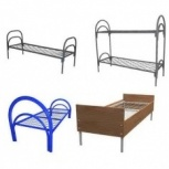 Металлические кровати с дсп спинками для гостиниц, кровати для больниц, Сочи