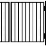Садовые металлические ворота, Сочи
